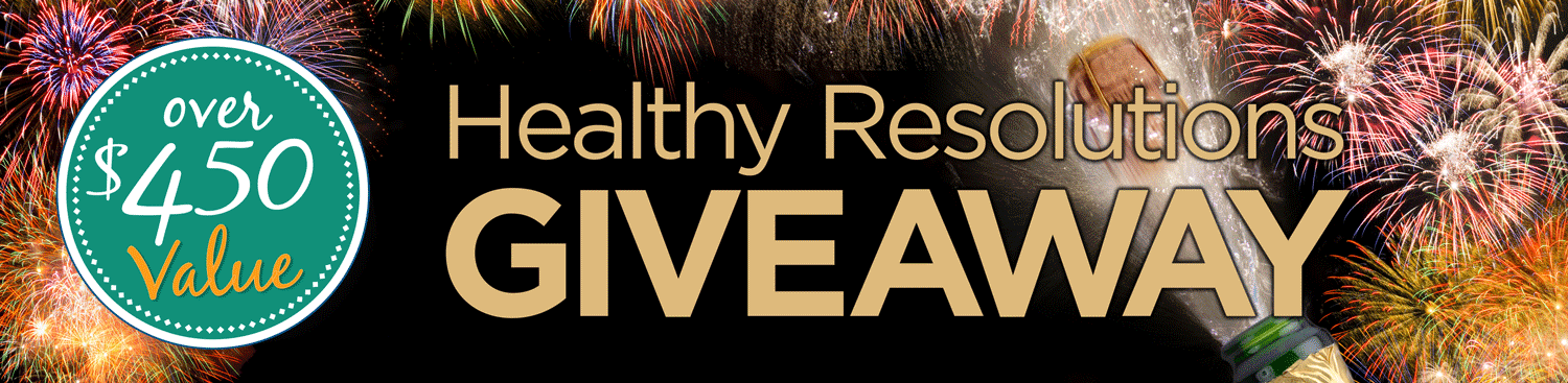2018 Healthy Resolutions Giveaway