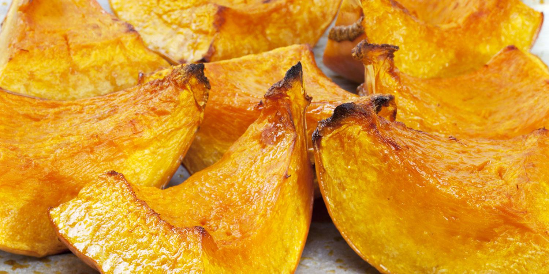 Roasted Pumpkin Wedges | Taste For Life