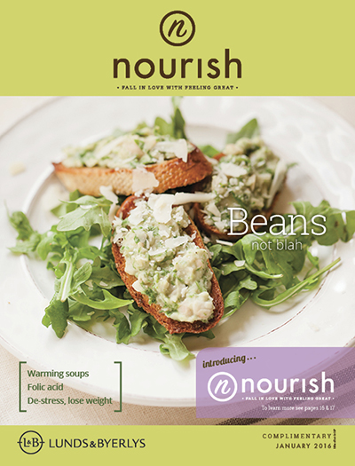 Lunds & Byerlys Nourish January 2016 cover