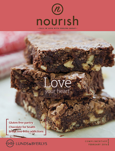 Lunds & Byerlys Nourish February 2016 cover