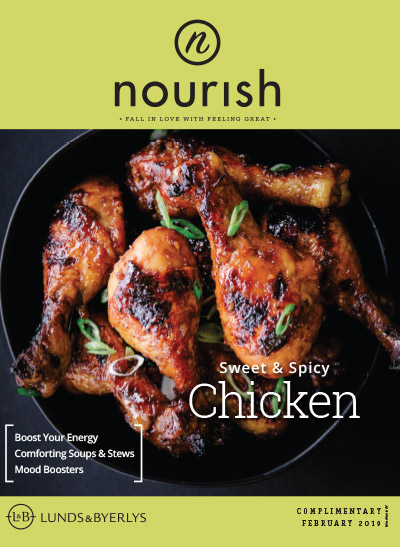 Lunds & Byerlys Nourish February 2019 cover