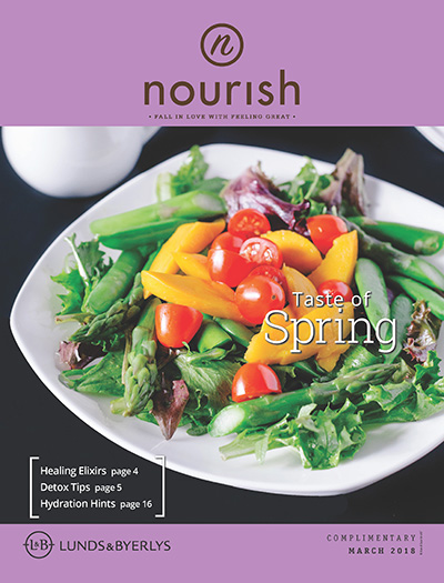 Lunds & Byerlys Nourish March 2018 cover