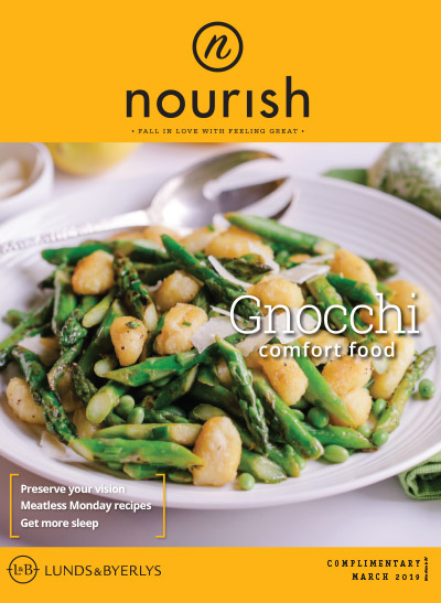 Lunds & Byerlys Nourish March 2019 cover