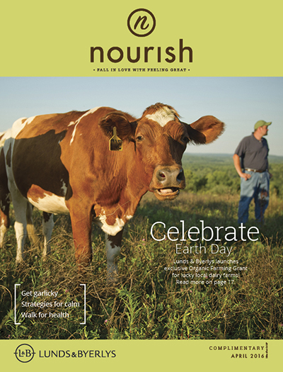 Lunds & Byerlys Nourish April 2016 cover