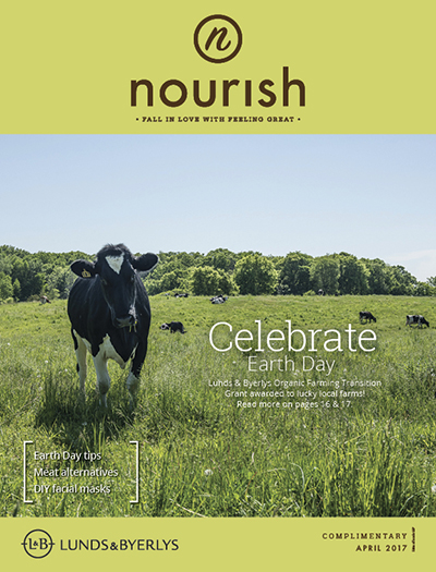 Lunds & Byerlys Nourish April 2017 cover