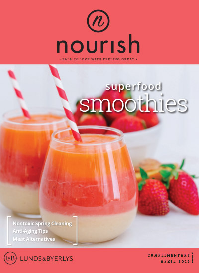 Lunds & Byerlys Nourish April 2019 cover