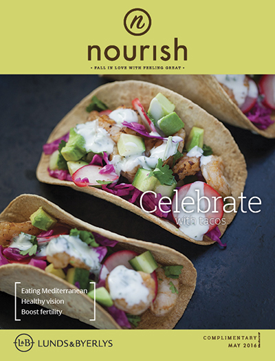 Lunds & Byerlys Nourish May 2016 cover