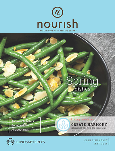 Lunds & Byerlys Nourish May 2018 cover