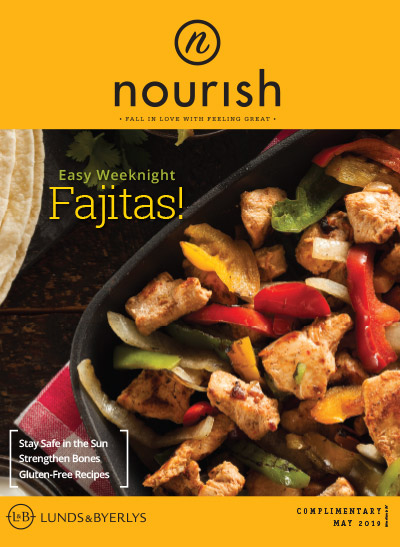 Lunds & Byerlys Nourish May 2019 cover