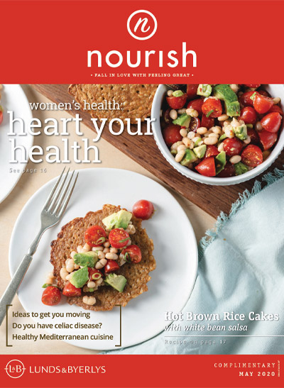 Lunds & Byerlys Nourish May 2020 cover