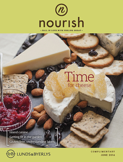 Lunds & Byerlys Nourish June 2016 cover