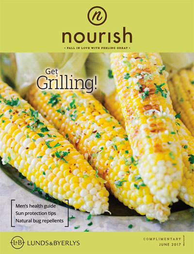 Lunds & Byerlys Nourish June 2017 cover
