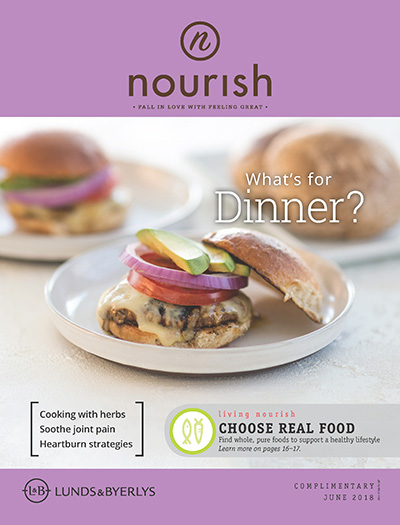 Lunds & Byerlys Nourish June 2018 cover