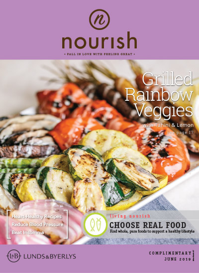 Lunds & Byerlys Nourish June 2019 cover