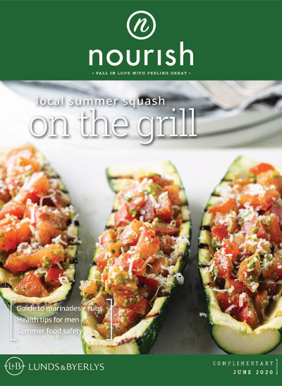 Lunds & Byerlys Nourish June 2020 cover