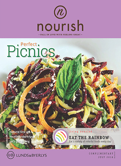 Lunds & Byerlys Nourish July 2018 cover