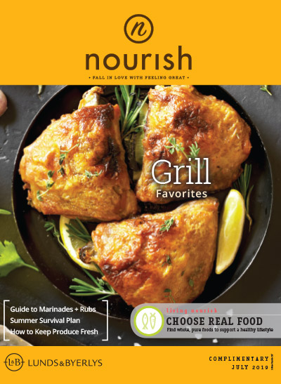 Lunds & Byerlys Nourish July 2019 cover