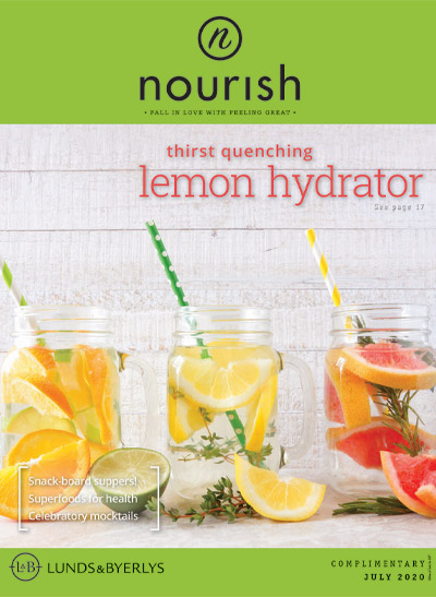Lunds & Byerlys Nourish July 2020 cover