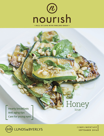 Lunds & Byerlys Nourish September 2016 cover