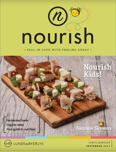 Lunds & Byerlys Nourish September 2017 cover