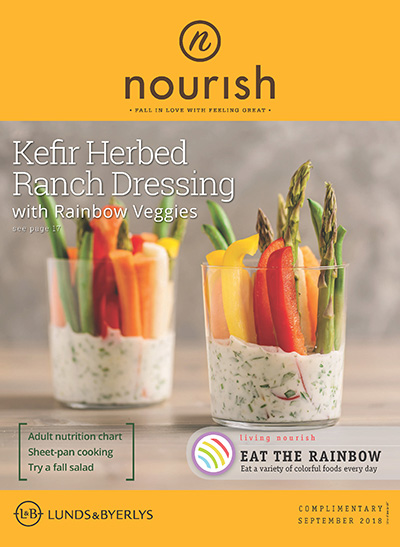 Lunds & Byerlys Nourish September 2018 cover