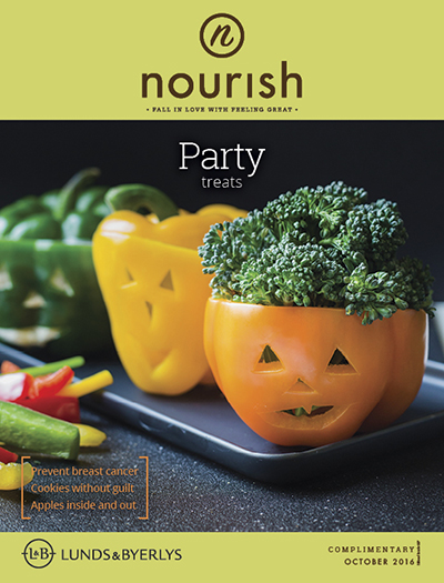 Lunds & Byerlys Nourish October 2016 cover