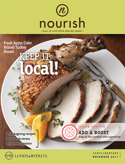 Lunds & Byerlys Nourish November 2017 cover
