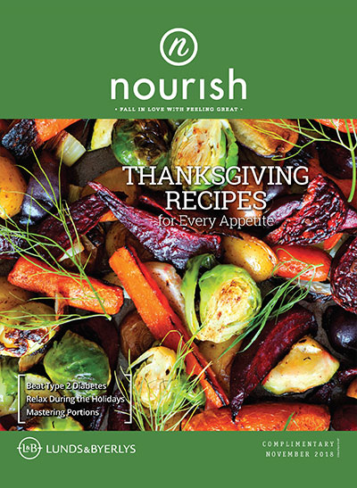 Lunds & Byerlys Nourish November 2018 cover