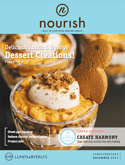 Lunds & Byerlys Nourish December 2017 cover