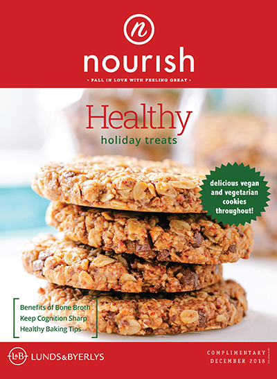 Lunds & Byerlys Nourish December 2018 cover