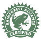 Rainforest Alliance label