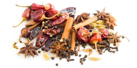 A collection of spices