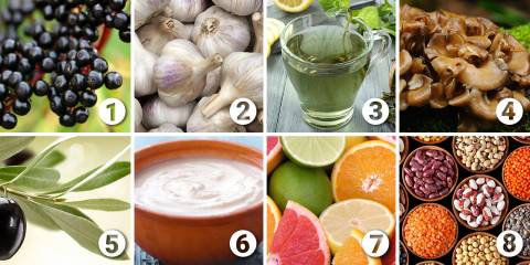 8 ingredients for immunity support
