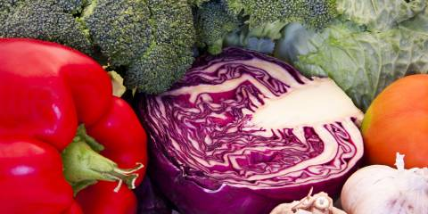 weight loss healthy vegetables broccoli pepper cabbage