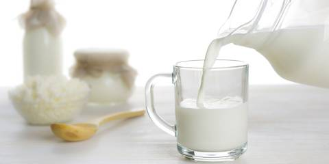 Organic milk dairy products