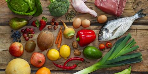 Foods of the Paleo Diet that may also work on Pegan diet.