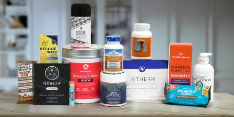 A selection of all-natural supplements to support your mind and body