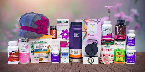 all-natural products and goodies for your mother
