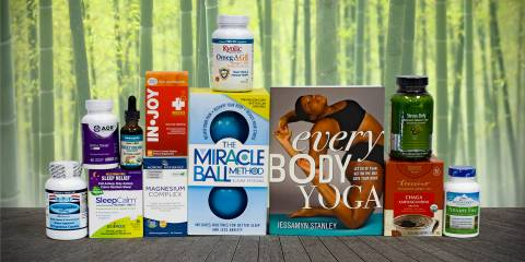 supplements for mind and body, plus physical therapy products