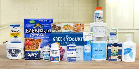 a wide variety of all natural foods and supplements