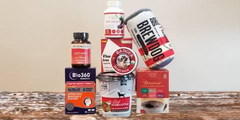 a variety of all-natural supplements, foods, body care, and pet products