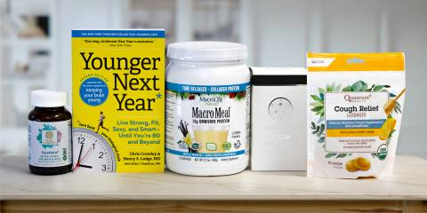 all-natural products meant for health and longevity