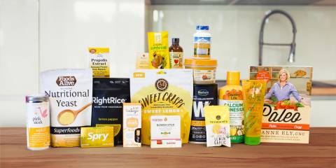 All-natural foods, supplements, and body-care products