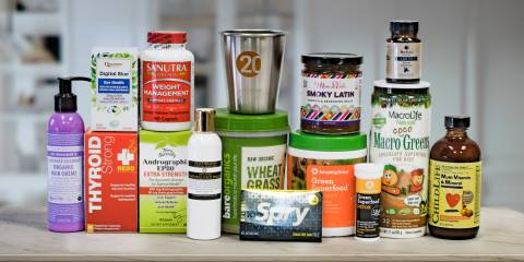 all-natural body care products and superfoods