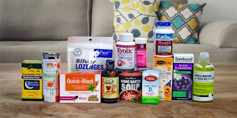 a huge collection of products for immunity and cold and flu relief