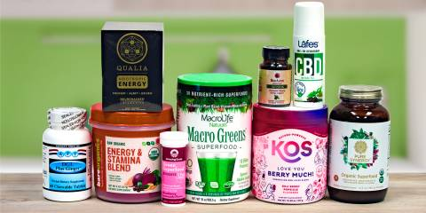 all-natural supplements and superfoods for energy
