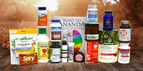 a giant giveaway of all-natural health and wellness products