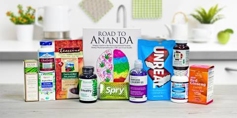 all natural products for serenity and energy