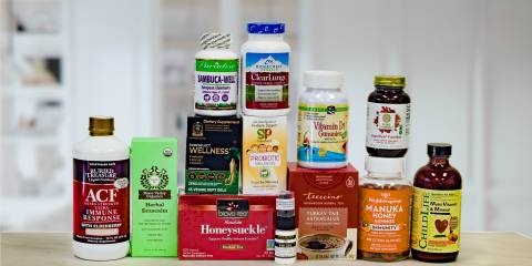 a wide variety of all-natural supplements for health and wellness