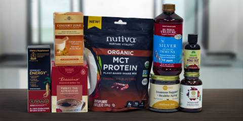 a wide variety of supplements for energy, immunity, and more
